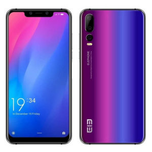 ELEPHONE A5 – 6.18 Zoll LTE FHD+ Phablet mit Android 9.0, Helio P60 Octa Core 2.0GHz , 4-6GB RAM, 64-128GB Speicher, Triple 12MP+5MP+0.3MP & Dual 20MP+2MP Kameras, 4.000mAh Akku