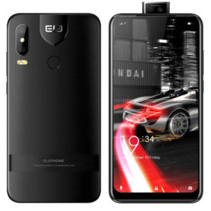 ELEPHONE PX – 6.34 Zoll LTE HD+ Phablet mit Android 9.0, Helio P22 Octa Core 2.0GHz, 4GB RAM, 64GB Speicher, Dual 16MP+2MP  & Dual 16MP+2MP Kameras, 3.500mAh Akku