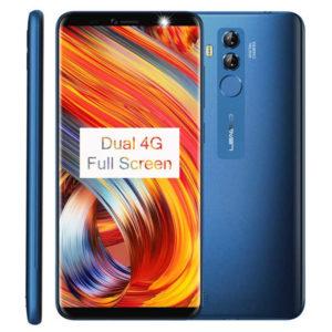 LEAGOO M9 Pro – 5.72 Zoll LTE HD+ Phablet mit Android 8.1, MTK6739 Quad Core 1.5GHz, 2GB RAM, 16GB Speicher, Dual 13MP+2MP & 5MP Kameras, 3.000mAh Akku