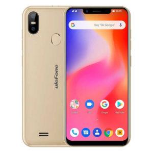 ULEFONE S10 Pro – 5.7 Zoll LTE HD+ Phablet mit Android 8.1, MTK6739WA Quad Core 1.3GH, 2GB RAM, 16GB Speicher, Dual 13MP+5MP & 5MP Kameras, 3.350mAh Akku