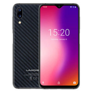 UMIDIGI One Max – 6.3 Zoll LTE HD+ Phablet mit Android 8.1, Helio P23 Octa Core 2.0GHz, 4GB RAM, 128GB Speicher, Dual 12MP+5MP & 16MP Kameras, 4.150mAh Akku