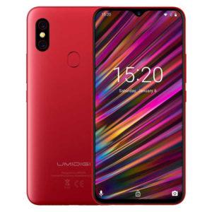 UMiDIGI F1 – 6.3 Zoll LTE FHD+ Phablet mit Android 9.0, Helio P60 Octa Core 2.0GHz, 4GB RAM, 128GB Speicher, Dual 16MP+8MP & 16MP Kameras, 5.150mAh Akku