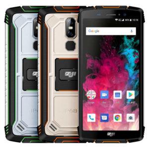 HOMTOM ZOJI Z11 – 5.99 Zoll Outdoor LTE HD+ Phablet mit Android 8.1, MTK6750T Octa Core 1.5GHz, 4GB RAM, 64GB Speicher, Dual 16MP+2MP & 13MP Kameras , 10.000mAh Akku