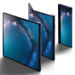 HUAWEI Mate X – 6.6/8.0 Zoll 5G FHD+ Falt-Phablet mit Android 9.0, Kirin 980 Octa Core 2.6GHz, 8GB RAM, 512GB Speicher, Triple 40MP+16MP+8MP Kameras, 4.500mAh Akku