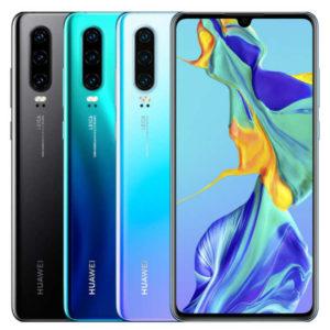 HUAWEI P30 – 6.1 Zoll LTE FHD+ Phablet mit Android 9.0, Kirin 980 Octa Core 2.6GHz, 6-8GB RAM, 64-256GB Speicher, Triple 40MP+16MP+8MP & 32MP Kameras, 3.650mAh Akku