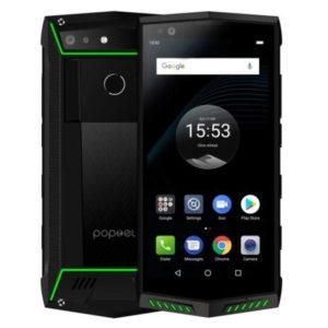 POPTEL P60 – 5.7 Zoll LTE FHD+ Phablet mit Android 8.1, Helio P23 Octa Core 2.0GHz, 6GB RAM, 128GB Speicher, 16MP & 8MP Kameras, 5.000mAh Akku