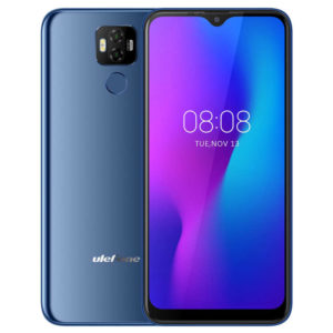 ULEFONE Power 6 – 6.3 Zoll LTE FHD+ Phablet mit Android 9.0, Helio P35 Octa Core 2.3GHz, 4GB RAM, 64GB Speicher, Dual 16M+2MP & 16MP Kameras, 6.350mAh Akku