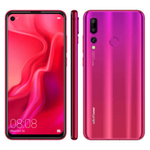 ULEFONE T3 – 6.3 Zoll LTE FHD+ Phablet mit Android 9.0, Helio P90 Octa Core 2.2GHz, 8GB RAM, 256GB Speicher, Triple 48M+16MP+TOF 3D & 25MP Kameras, 4.200mAh Akku