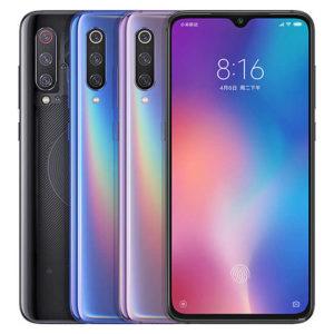 XIAOMI Mi 9 – 6.39 Zoll LTE FHD+ Phablet mit Android 9.0, Snapdragon 855 Octa Core 2.8GHz, 6-12GB RAM, 128-256GB Speicher, Triple 48MP+12MP+16MP & 20MP Kameras, 3.500mAh Akku