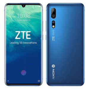 ZTE Axon 10 Pro 5G – 6.47 Zoll 5G FHD+ Phablet mit Android 9.0, Snapdragon 855 Octa Core 2.8GHz, 6-12GB RAM, 128-256GB Speicher, Triple 48MP+20MP+8MP & 20MP Kameras, 4.000mAh Akku