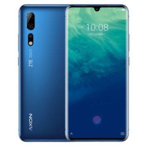 ZTE Axon 10 Pro – 6.47 Zoll LTE FHD+ Phablet mit Android 9.0, Snapdragon 855 Octa Core 2.8GHz, 6-12GB RAM, 128-256GB Speicher, Triple 48MP+20MP+8MP & 20MP Kameras, 4.000mAh Akku