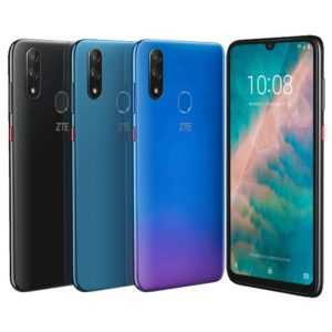 ZTE Blade V10 – 6.26 Zoll LTE FHD+ Phablet mit Android 9.0, Helio P70 Octa Core 2.1GHz, 4GB RAM, 64-128GB Speicher, Dual 16MP+5MP & 32MP Kameras, 3.200mAh Akku