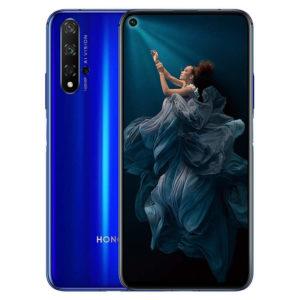 HUAWEI HONOR 20 – 6.1 Zoll LTE FHD+ Phablet mit Android 9.0, Kirin 980 Octa Core 2.6GHz, 6-8GB RAM, 128-256GB Speicher, Quad 48MP+16MP+2MP+2MP & 32MP Kameras, 3.750mAh Akku
