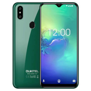 OUKITEL C15 Pro – 6.09 Zoll LTE HD Phablet mit Android 9.0, Helio A22 Quad Core 2.0GHz, 2GB RAM, 16GB Speicher, Dual 8MP+2MP & 5MP Kameras, 3.200mAh Akku