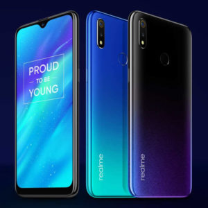 REALME 3 – 6.22 Zoll LTE HD+ Phablet mit Android 9.0, Helio P70 Octa Core 2.1GHz, 3-4GB RAM, 32-64GB Speicher, Dual 13MP+2MP & 13MP Kameras, 4.230mAh Akku