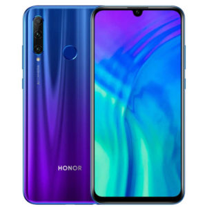 HUAWEI HONOR 20i – 6.21 Zoll LTE FHD+ Phablet mit Android 9.0, Kirin 710 Octa Core 2.2GHz, 4-6GB RAM, 64-256GB Speicher, Triple 24MP+8MP+2MP & 32MP Kameras, 3.400mAh Akku
