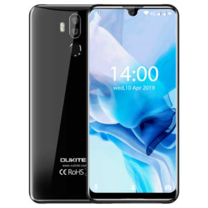 OUKITEL K9 – 7.12 Zoll LTE FHD+ Phablet mit Android 9.0, Helio P35 Octa Core 2.3GHz, 4GB RAM, 64GB Speicher, Dual 16M+2MP & 8MP Kameras, 6.000mAh Akku
