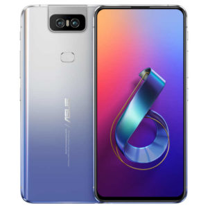 ASUS ZenFone 6 – 6.4 Zoll LTE FHD+ Phablet mit Android 9.0, Snapdragon 855 Octa Core 2.84GHz, 6-8GB RAM, 64-256GB Speicher, Dual 48MP+13MP Flip Kameras, 5.000mAh Akku