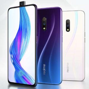 REALME X – 6.5 Zoll LTE FHD+ Phablet mit Android 9.0, Snapdragon 710 Octa Core 2.2GHz, 4GB RAM, 64-128GB Speicher, Dual 48MP+5MP & 16MP Kameras, 3.700mAh Akku