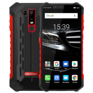 ULEFONE Armor 6E – 6.2 Zoll LTE FHD+ Outdoor Phablet mit Android 9.0, Helio P70 Octa Core 2.1GHz, 4GB RAM, 64GB Speicher, Dual 16MP+2MP & 8MP Kameras, 5.000mAh Akku