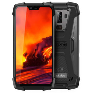 BLACKVIEW BV9700 Pro – 5.84 Zoll LTE FHD+ Outdoor Phablet mit Android 9.0, Helio P70 Quad Core 2.1GHz, 6GB RAM, 128GB Speicher, Dual 16MP+8MP & 16MP Kameras, 4.380mAh Akku