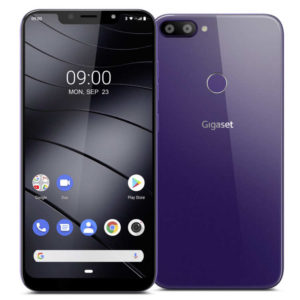 GIGASET GS195 – 6.18 LTE FHD Phablet mit Android 9.0, SC9863A Octa Core 1.6GHz, 2GB RAM, 32GB Speicher, Dual 13MP+5MP & 8MP Kameras, 4.000mAh Akku