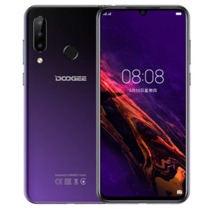 DOOGEE N20 – 6.3 Zoll LTE FHD+ Phablet mit Android 9.0, Helio P23 Octa Core 2.0GHz, 4GB RAM, 64GB Speicher, Triple 16MP+8MP+8MP & 16MP Kameras, 4.350mAh Akku