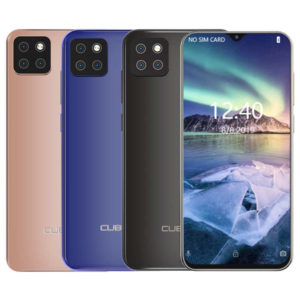CUBOT X20 Pro – 6.3 Zoll LTE FHD+ Phablet mit Android 9.0, Helio P60 Octa Core 2.0GHz, 6GB RAM, 128GB Speicher, Dual 16MP+2MP & 8MP Kameras, 4.000mAh Akku