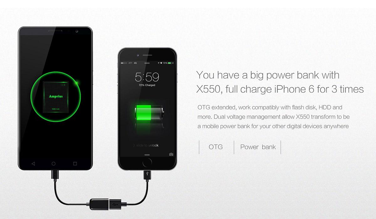 BLUBOO X550, Angebot, China-Smartphone, Smartphones günstig, Test, Testbericht, zollfrei Paypal, Angebot, OTG Powerbank