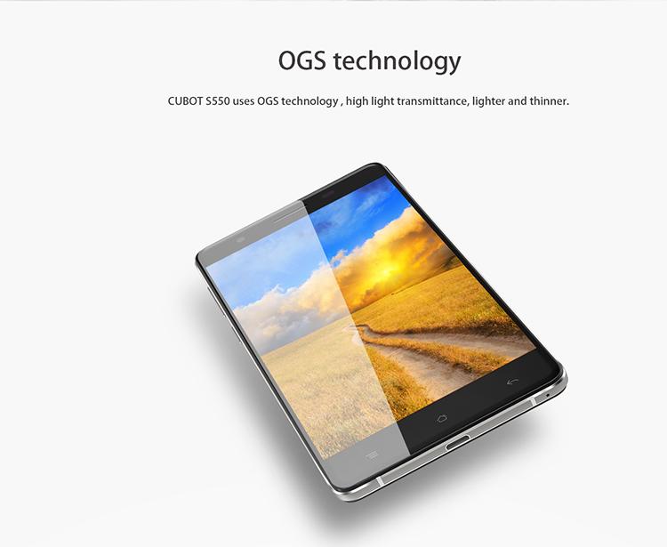 CUBOT S550 OGS Display, großer Akku, lange Laufzeit Akku, Benchmark, Neuheit