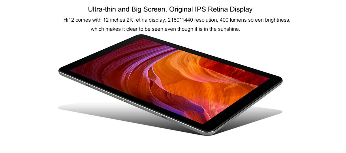 Chuwi Hi12 12 Zoll Tablet Pc Mit Windows 10 Intel Cherry Trail