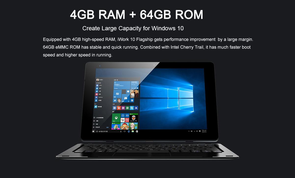 Cube iWork 10 Flagship, 4GB RAM, Intel CPU