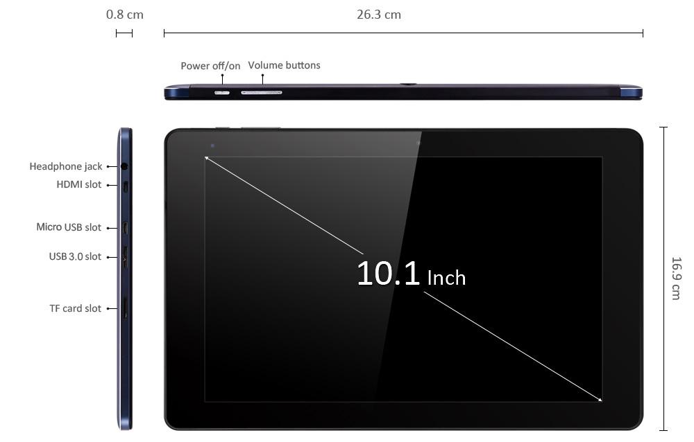 Cube iWork 10 Flagship, HDMI, Speicher, Geschwindigkeit