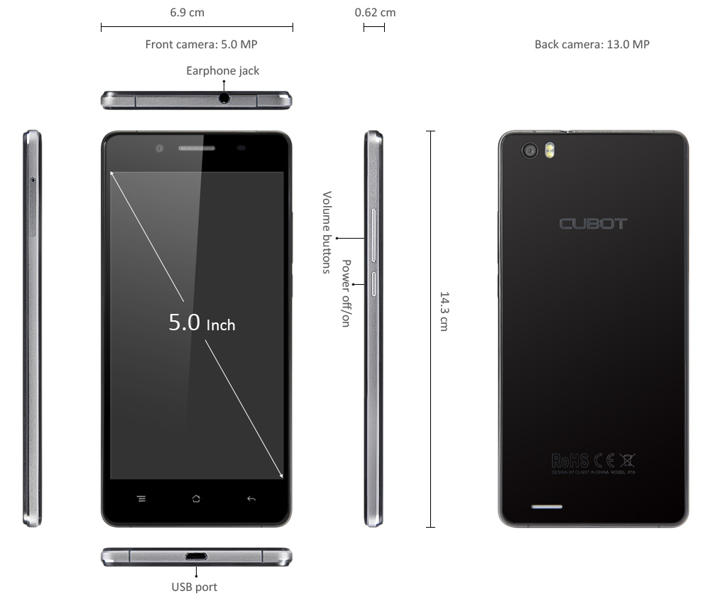 Cubot X16, Testbericht, Cubot, China Smartphone, China Smartphones, Benchmark Test, Cubot X16