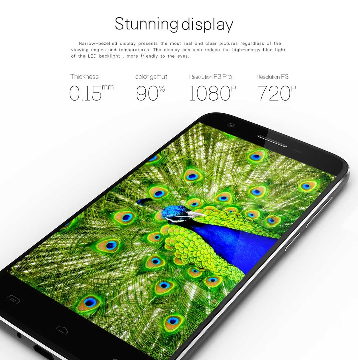 Doogee F3, Test, Antutu, Benchmarks, Phablet günstig, Smartphone günstig kaufen,, Testbericht, China Smartphone