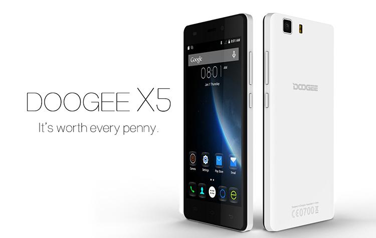 Doogee X5, Smartphones ohne Vertrag, günstig China Smartphone, Test, Testbericht, Angebot, Antutu Doogee, PayPal, zollfrei