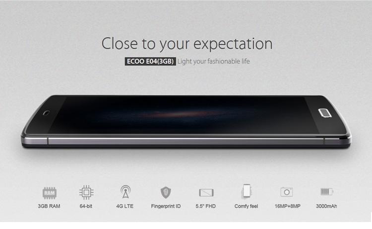 ECOO E04 Aurora PLUS, Test Testbericht, Angebot, Smartphone ohne Vertrag, bester Preis, Angebot, Benchmark, Antutu, Full HD 3GB, Benchmark Test