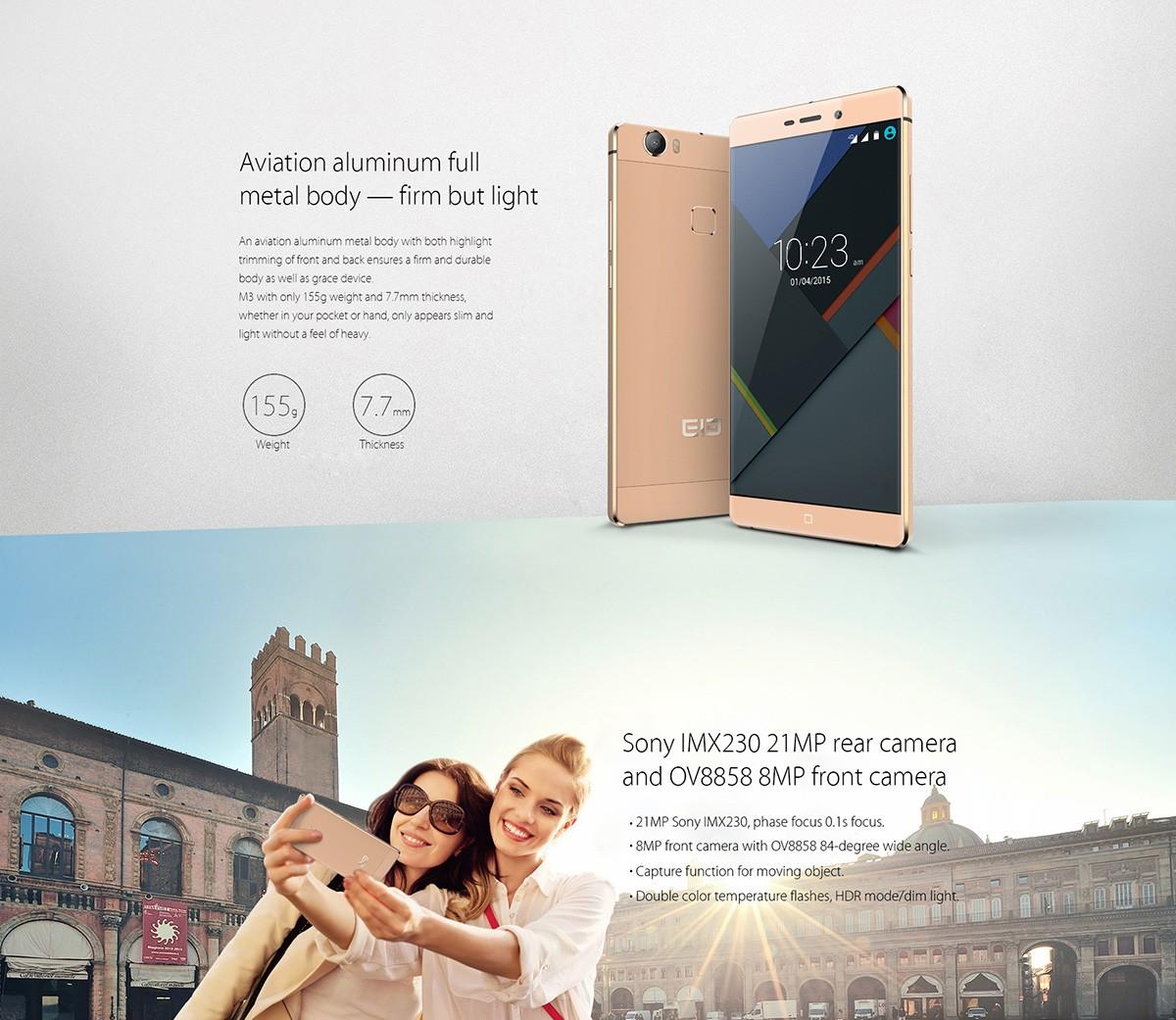 Elephone M3, bester Preis, Angebot, Antutu Test, Testbericht, China Smartphone, Handy ohne Vertrag, günstig Smartphone