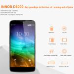 INNOS D6000 –  XXL Akku 6000mAh + Qualcomm Snapdragon 615 + 5.2 Zoll Full HD