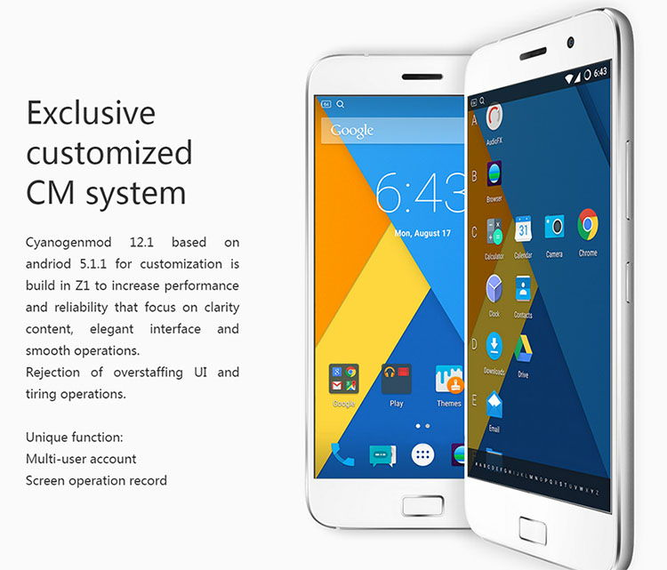 Lenovo ZUK Z1 ,Cyanogenmod 12.1, Testbericht, China Smartphone, Test China Smartphones Handy, Antutu Benchmark, günstige Smartphones Android
