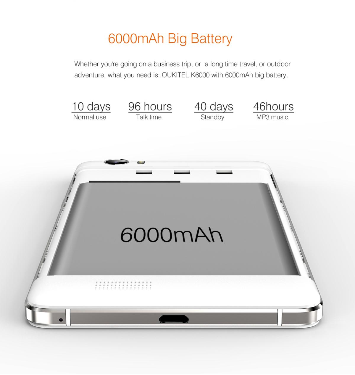 OUKITEL K6000, Test, Antutu, Akku Test, Akku Laufzeit, Smartphone ohne Vertrag, Smartphones günstig, China Smartphone