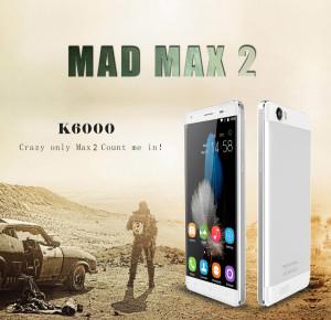 Oukitel K6000 – günstiges 5.5 Zoll HD Smartphone mit Laufzeit ohne Ende (6.000mAh Akku)!