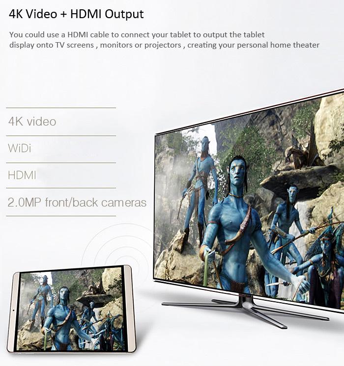 Onda V919 Air CH 9.7, 4k Display, HDMI, Akku Laufzeit 7 Stunden Test