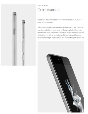 OnePlus X – 5.0 Zoll Smartphone mit AMOLED, 3GB, Snapdragon 801 2.3GHz!