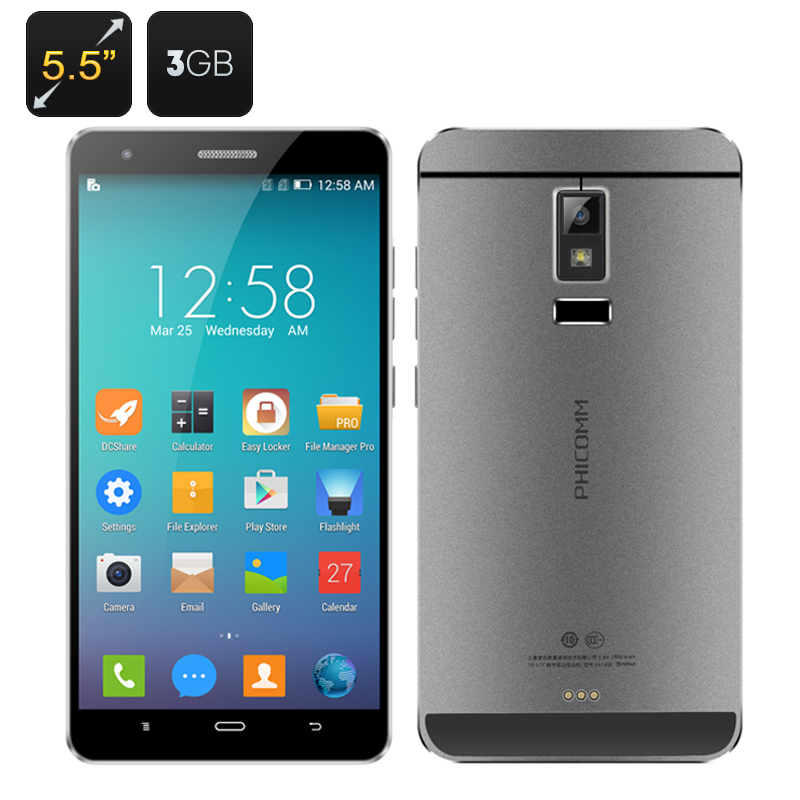 PHICOMM EX780L, Antutu, Test, Angebot, Smartphone günstig kaufen