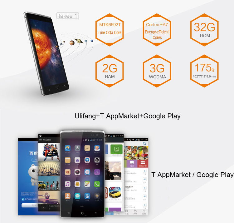TAKEE 1, 3D Display, Full HD, Angebot Smartphone, sehr günstig China Smartphone, Smartphones China, China Phablet, Testbericht, Antutu Benchmark