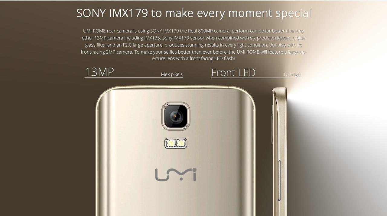 UMI ROME, 3GB RAM, Testbericht, Antutu Test, Benchmaks, Display Kamera, Sony Kamera, 13MP Kamera