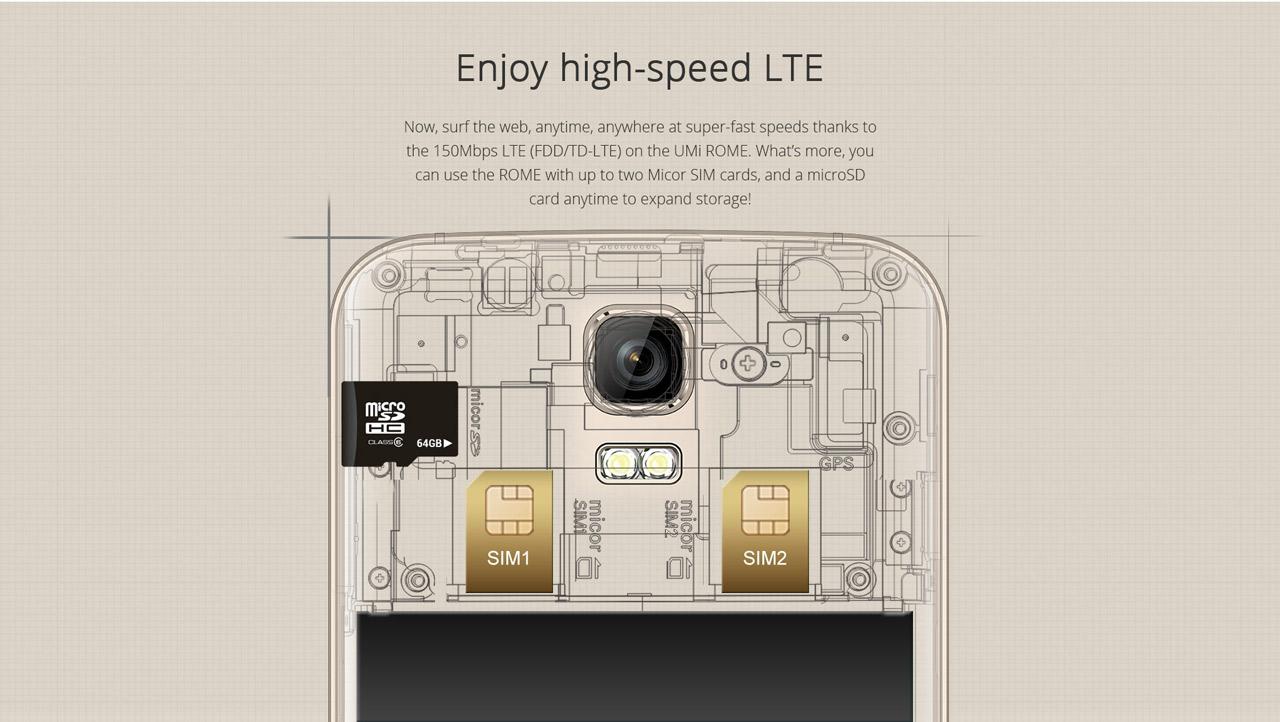 UMI ROME, Testbericht, Gearbest, Everbuying, Smartphone kaufen, Qualität, Test, China Handy Smartphone Phablet