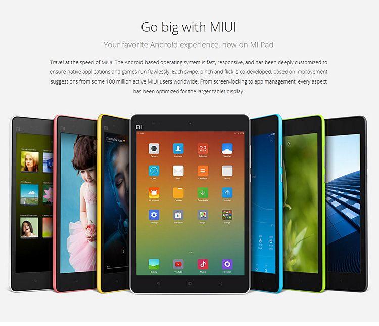 Xiaomi Mi Pad , Tablet PC Xiaomi, China Smartphones, China Tablet Test, China Phablet, Xiaomi Antutu Mi Pad, Testbericht, zollfrei