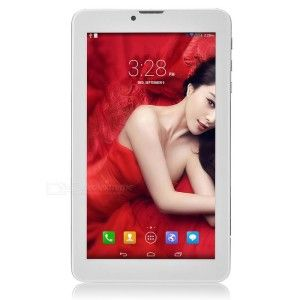 SP7731 7.0 Zoll 3G WSVGA Phablet/Tablet mit Android 4.4, SC7731 ARM Cortex-A7 Quad Core 1.2GHz, 512MB RAM, 8GB Speicher, 2MP+0.3MP Kameras, 2.500mAh Akku